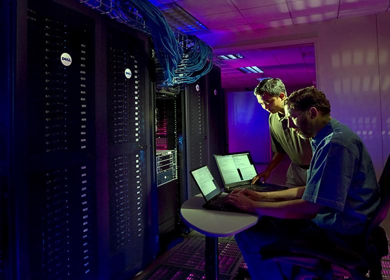 Мощные Linux-серверы в составе ботнета обеспечивают суммарный трафик > 150 Гбит/с для DDoS атак (изображение: sandia.gov).