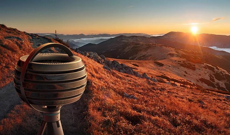 Съёмка сферических панорам из одной точки (изображение: Lytro).