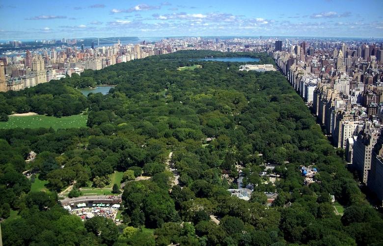 Центральный парк Нью-Йорка (фото: michaelminn.net).