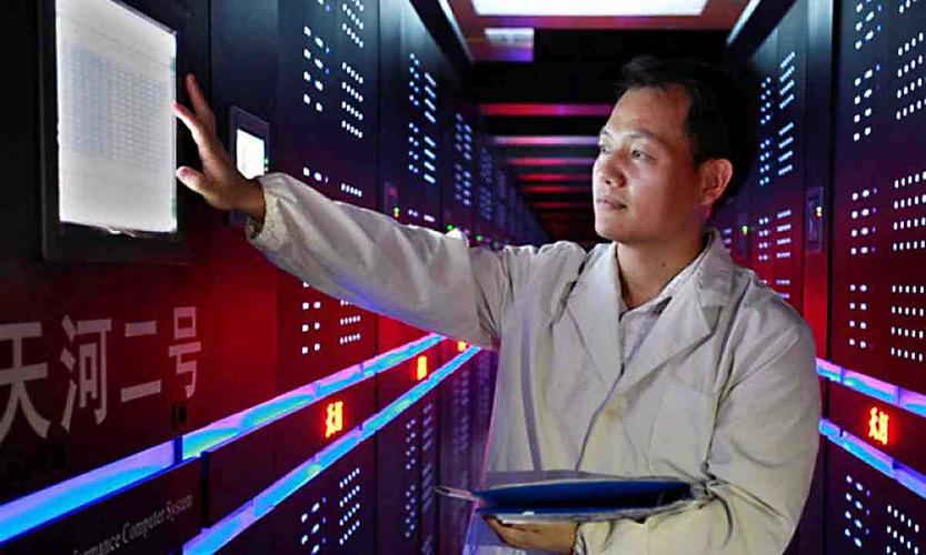 Китай втрое увеличил число суперкомпьютеров в рейтинге TOP500 (изображение: south-insight.com).