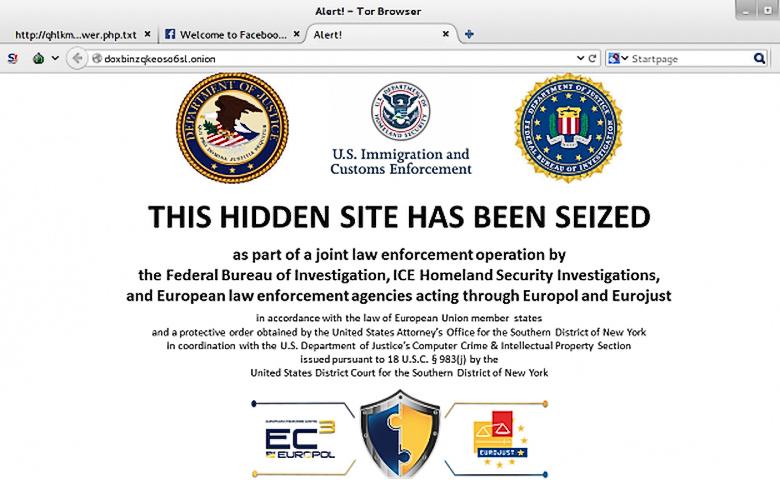 Блокировка сайта в Tor (изображение: ArsTechnica).