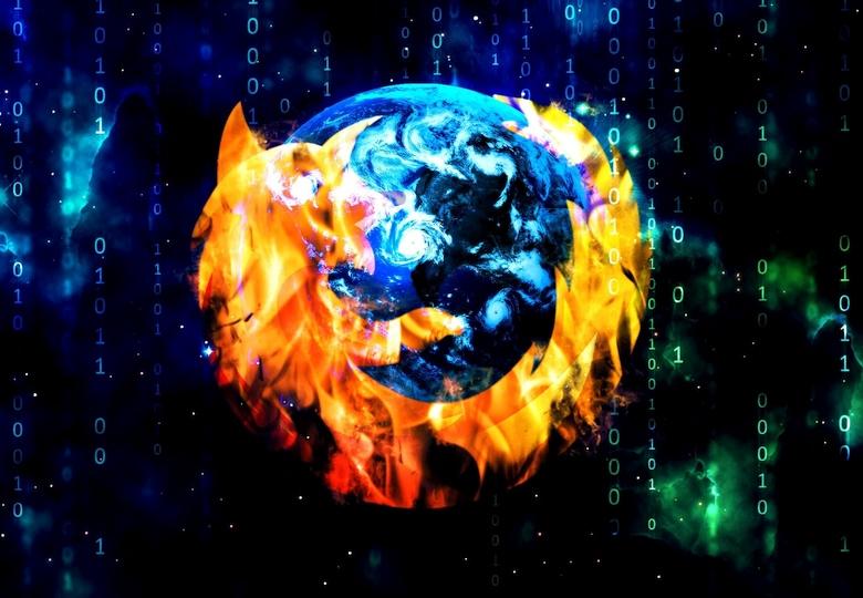 Firefox впервые стал 64-разрядным.