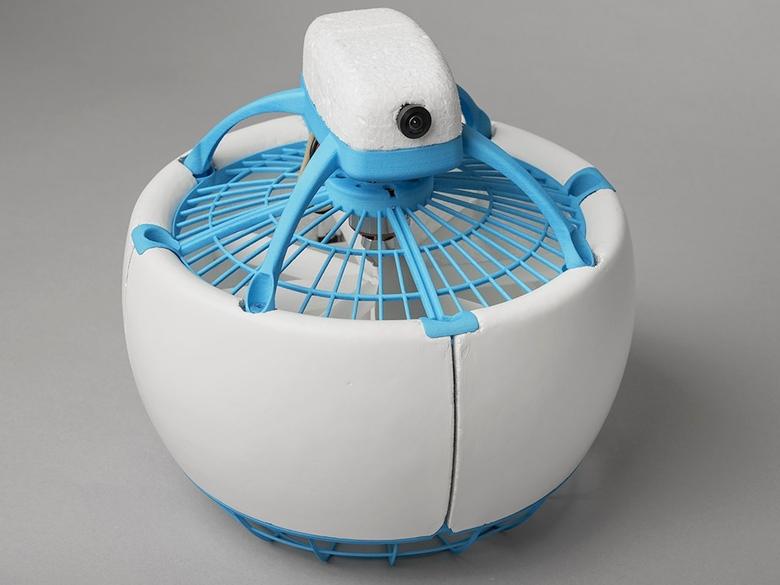 Fleye - самый безопасный дрон (фото: gofleye.com).