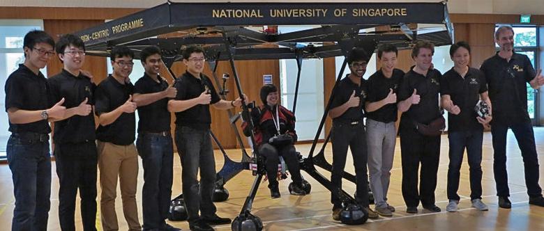 Университетская команда разработчиков Snowstorm (фото: eedesignit.com).