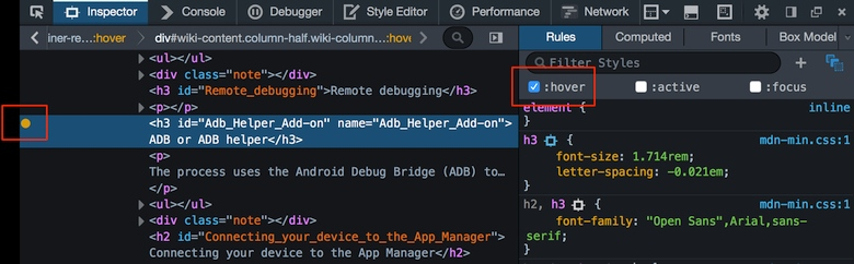 Новая подсветка синтаксиса в Firefox v.43.0.