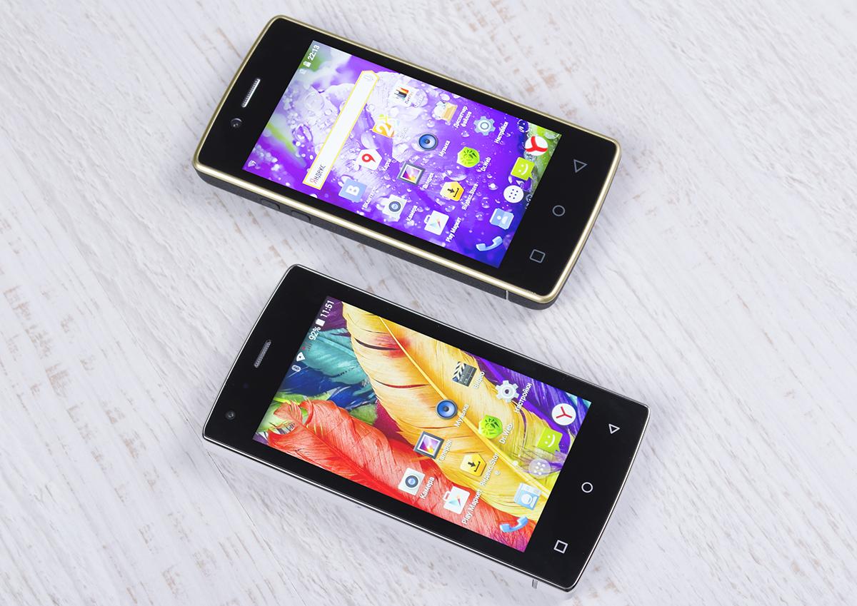 DEXP Ixion XL140 Flash и DEXP Ixion XL240 Triforce