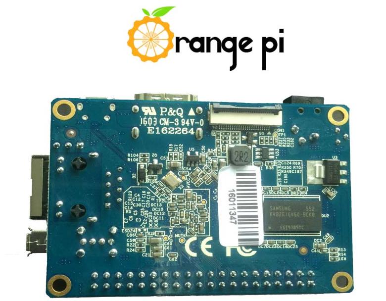 Двусторонняя распайка  Orange Pi One (фото: Shenzhen Xunlon).