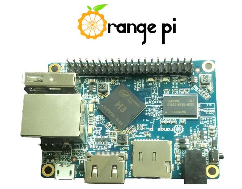 Одноплатный микрокомпьютер Orange Pi One (фото: Shenzhen Xunlon).