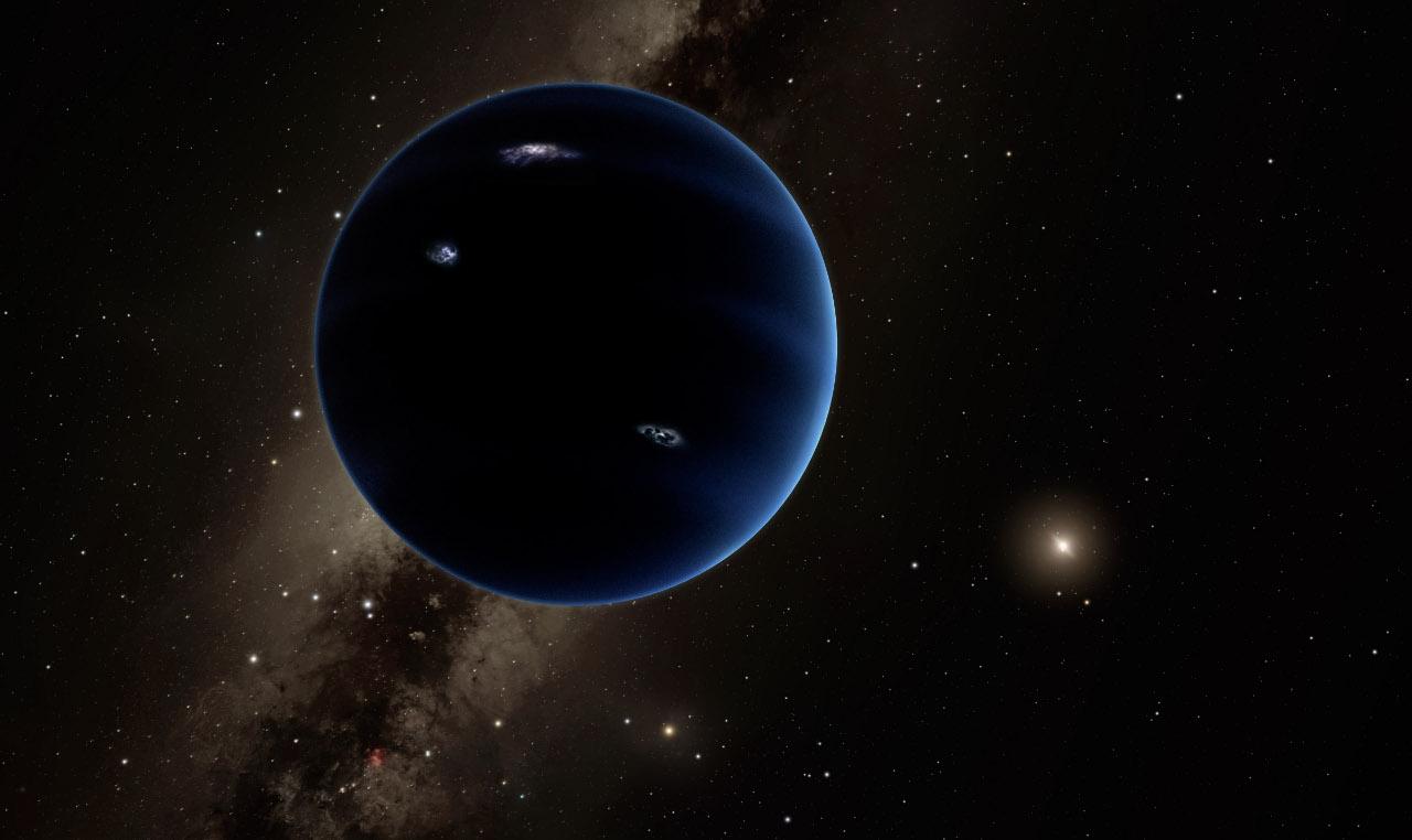 Так, вероятно, выглядит Планета Девять вблизи. Скорее всего это газовый гигант, а температура на поверхности не превышает 20 градусов Кельвина.