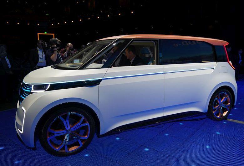 Volkswagen Budd-e (фото: TheVerge).
