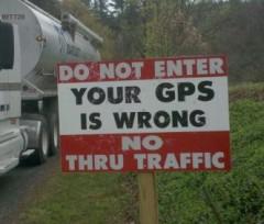 Заблудившиеся насмерть: с GPS пора завязывать?