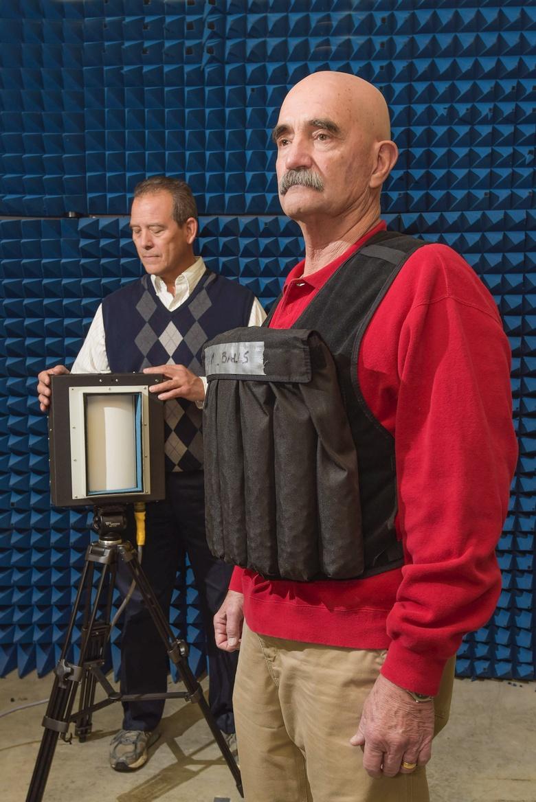 Тестирование детектора CDB-1000 (фото: sandia.gov).