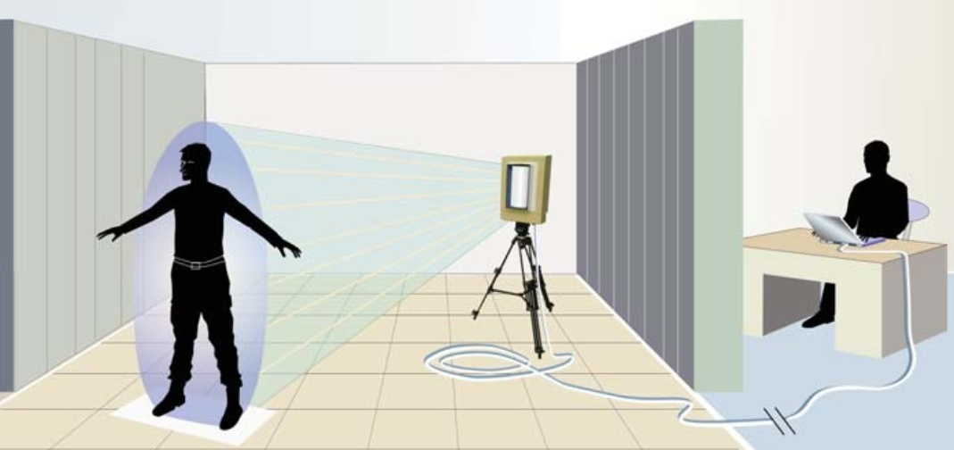 Схема работы детектора CBD-1000 (изображение: sandia.gov).