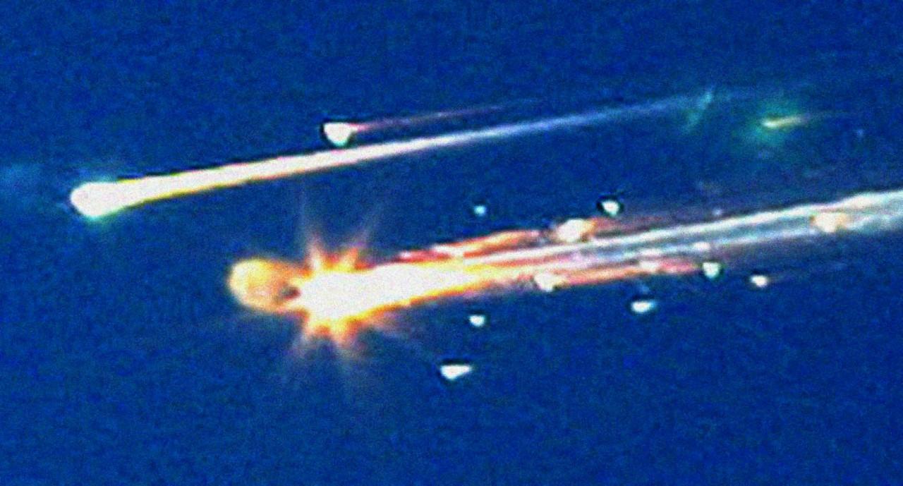Space Shuttle Columbia, 1 февраля 2003 года.