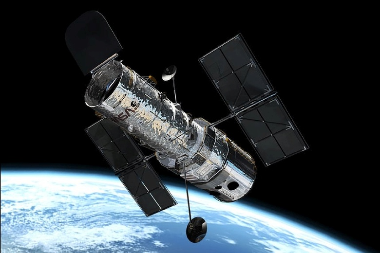 """Космический телескоп """"Хаббл"""" (изображение: nasa.gov)"""