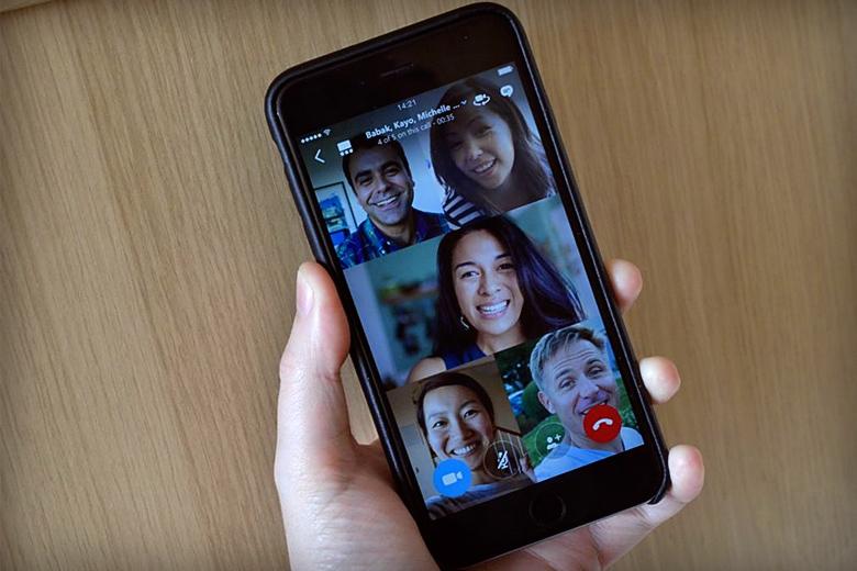 Групповой видеочат в Skype (фото: theverge.com).