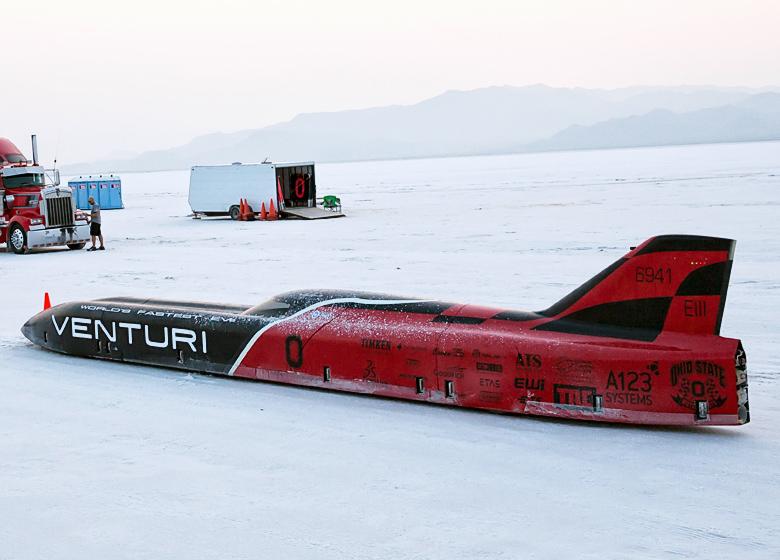 Прототип Venturi Buckeye Bullet 3 (фото:  Jonathan M. Gitlin / ArsTechnica).
