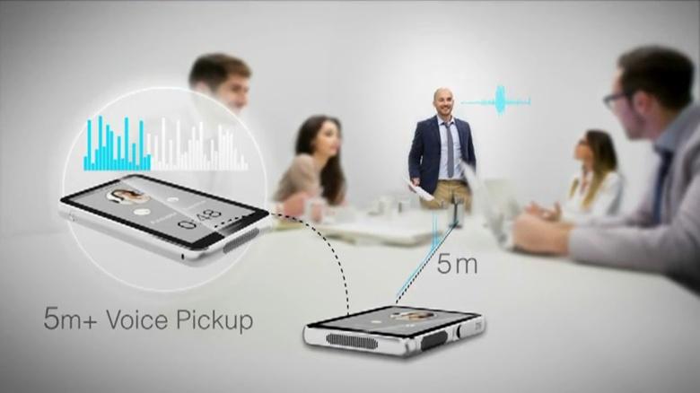 Голосовое управление ZTE Spro Plus (изображение: ZTE).