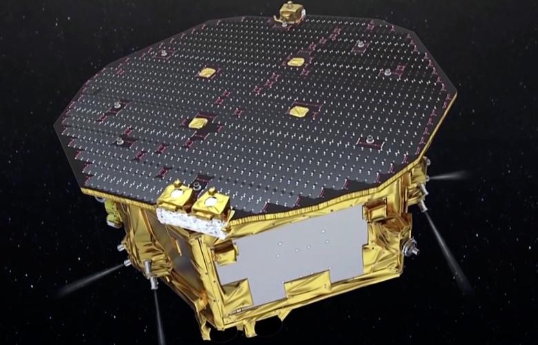 Ионные двигатели eLISA (изображение: elisascience.org).