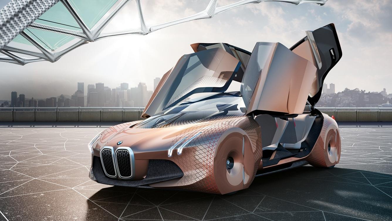 BMW: открывание всех дверей вверх.