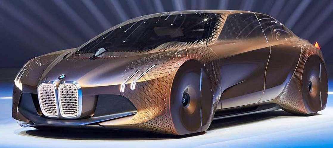 BMW Vision Next 100 (здесь и далее фото: bmwgroup.com).