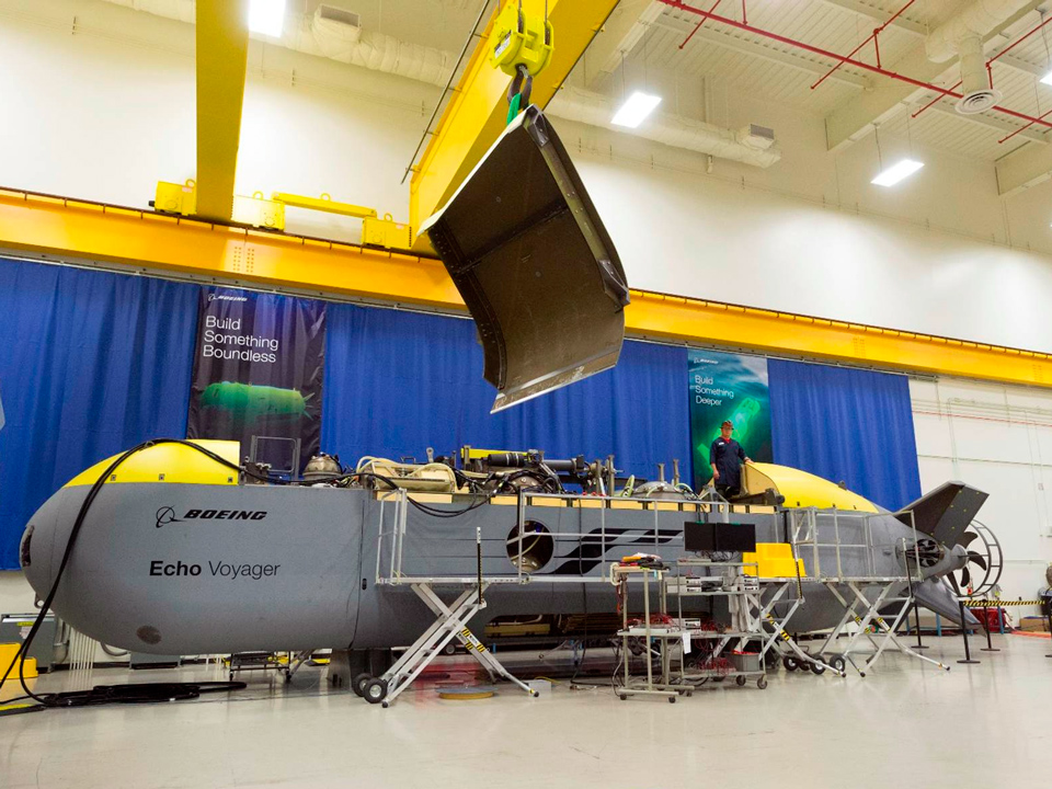 Беспилотная субмарина Echo Voyager (фото: Boeing).
