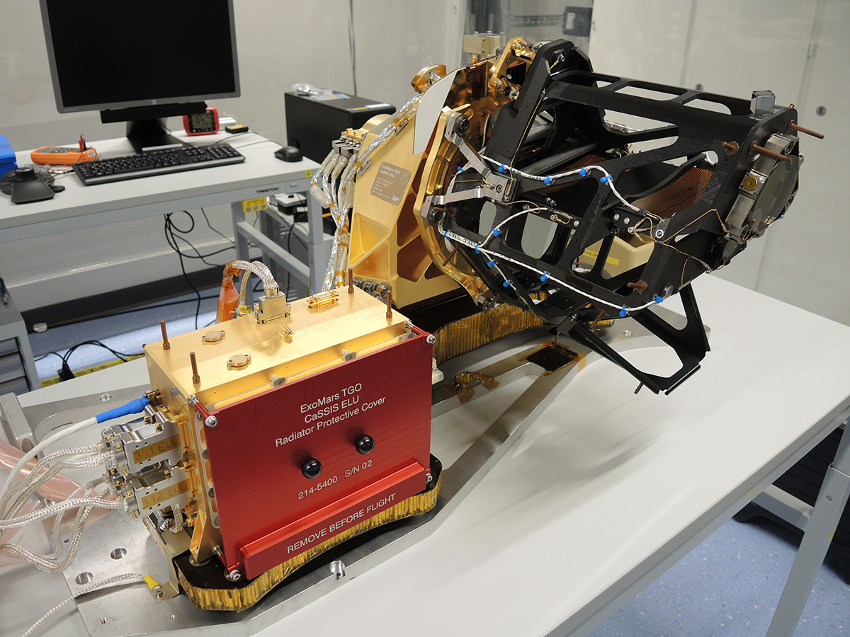 Камера CaSSIS орбитального модуля TGO (фото: Nicolas Thomas, University of Bern).