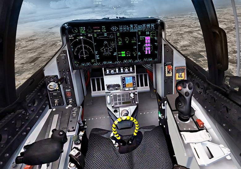 Кабина F-35 (фото:  Jeff Head).