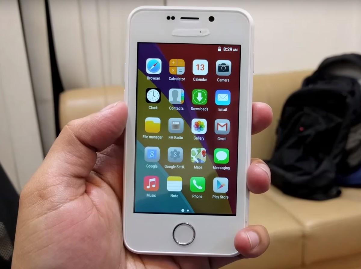 Ребрендинг смартфона канцелярским корректором (фото: Gadgets 360).