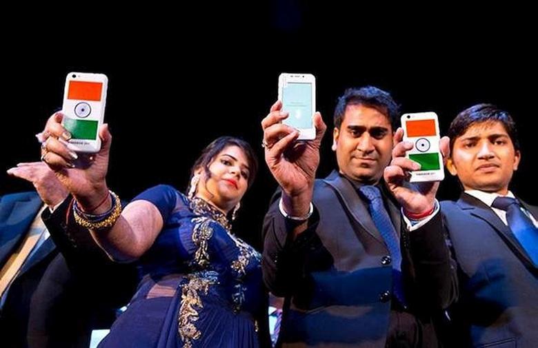 Freedom 251 - смартфон, которого нет (фото: jansatta.com).
