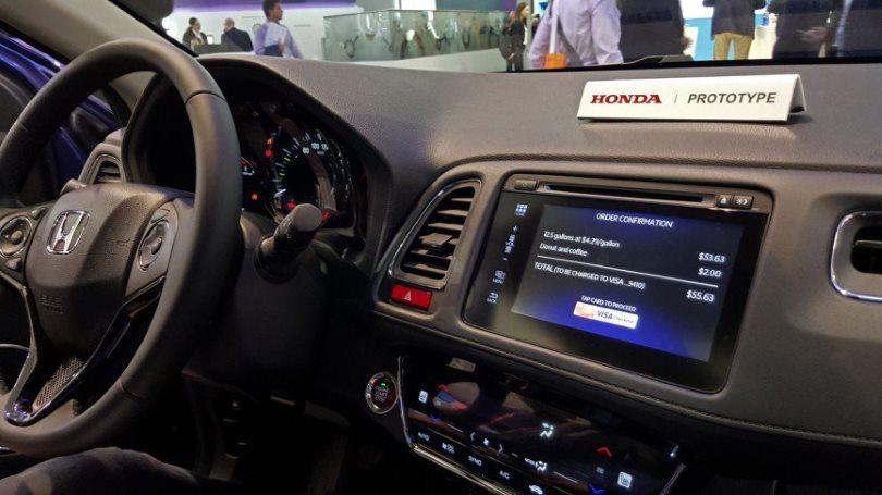 Visa и Honda хотят, чтобы автомобиль сам оплачивал заправку