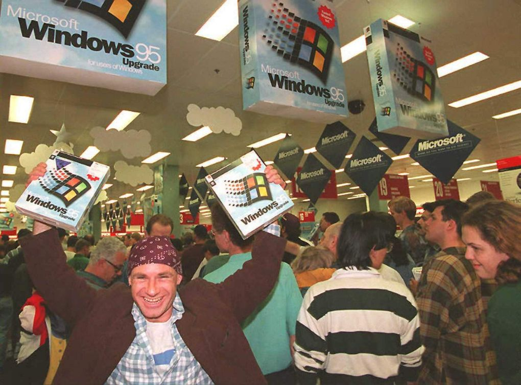 Запуск Windows 95