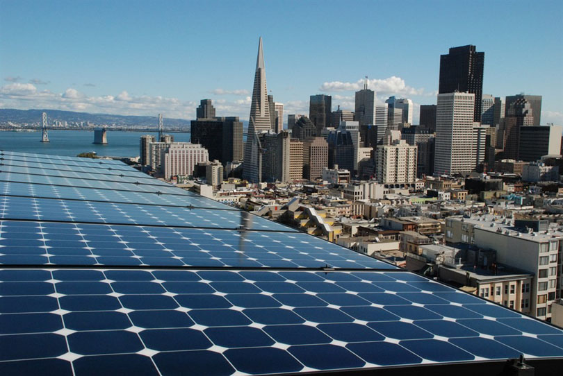 Сан-Франциско массово переходит на солнечную энергию