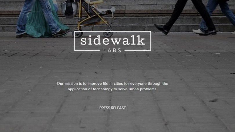 Проект городов будущего от Sidewalk Labs