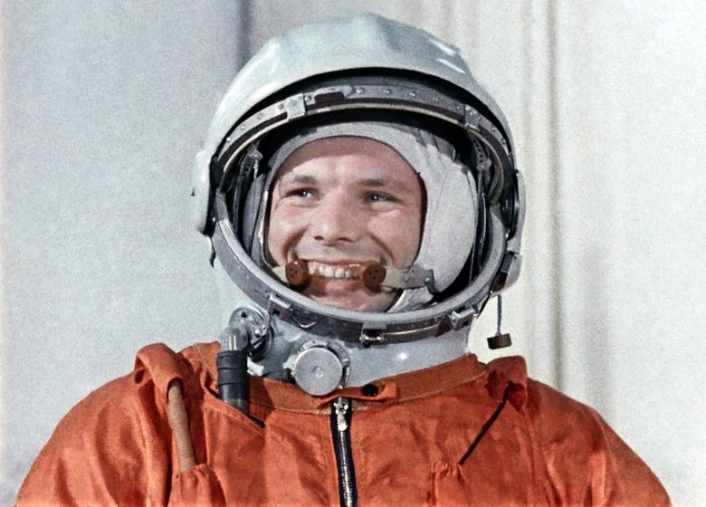 Юрий Гагарин и его знаменитая улыбка (фото: ТАСС).