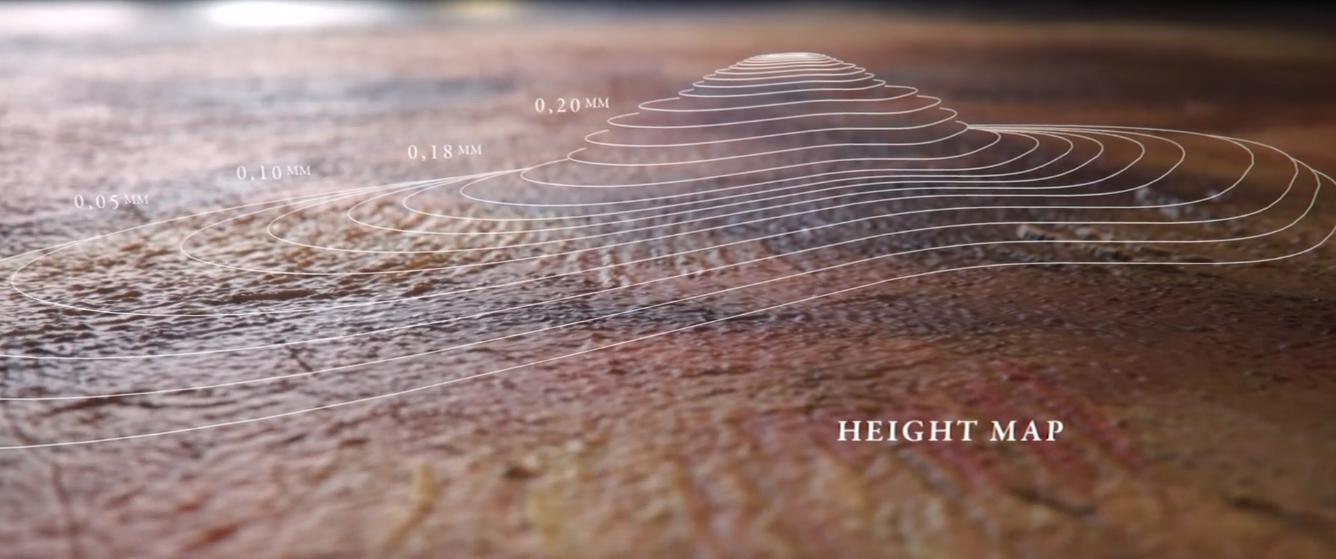 Карта высот помогает воссоздать пастозную технику (фото: nextrembrandt.com).
