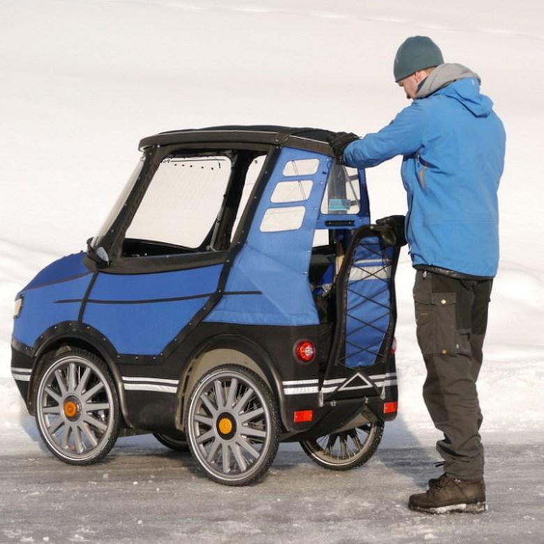 Багажник PodRide (фото: indiegogo.com).