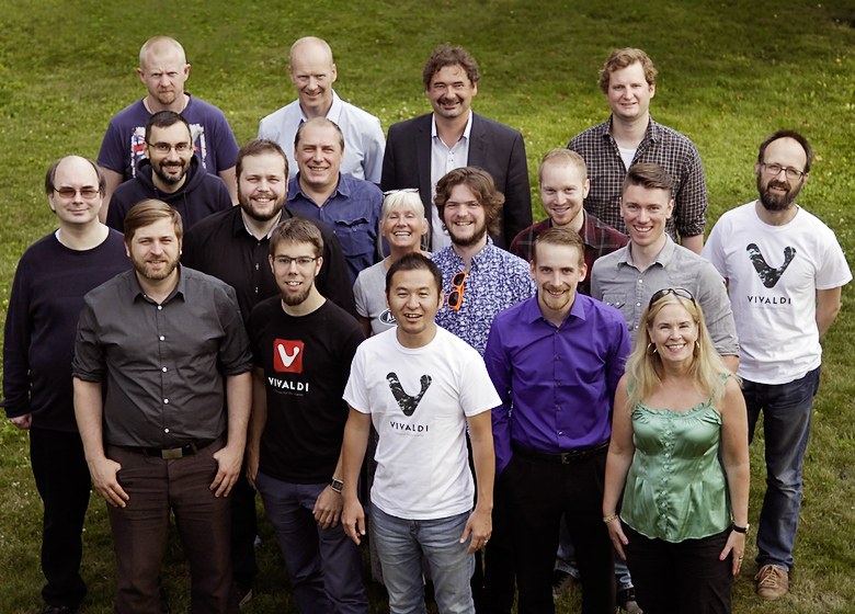 Коллектив разработчиков Vivaldi Technologies (фото: vivaldi.com).