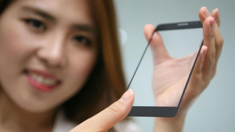 LG убирает дактилоскопический датчик под стекло