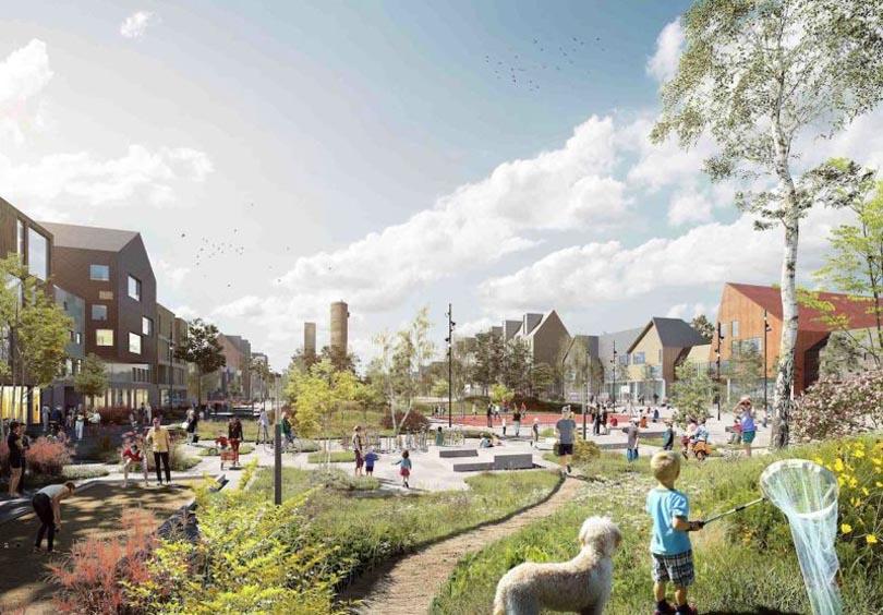 Иностранный опыт: как в Швеции перемешают целый город