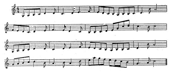 «Уральский» напев: одна из первых мелодий, написанных электронно-вычислительной машиной. Фото: «Наука и жизнь».