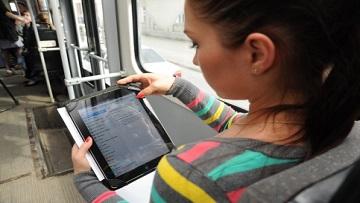 Сеть бесплатного Wi-Fi в метро и наземном транспорте объединят до конца лета.