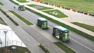 Анонс беспилотной автомобильной платформы «Матрёшка» прошел в Москве