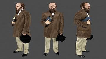 В приложении «Узнай Москву. Фото» появилась 3D-модель писателя Федора Достоевского.