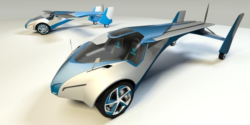 Предсерийный летающий автомобиль показали в Лондоне | Компьютерра