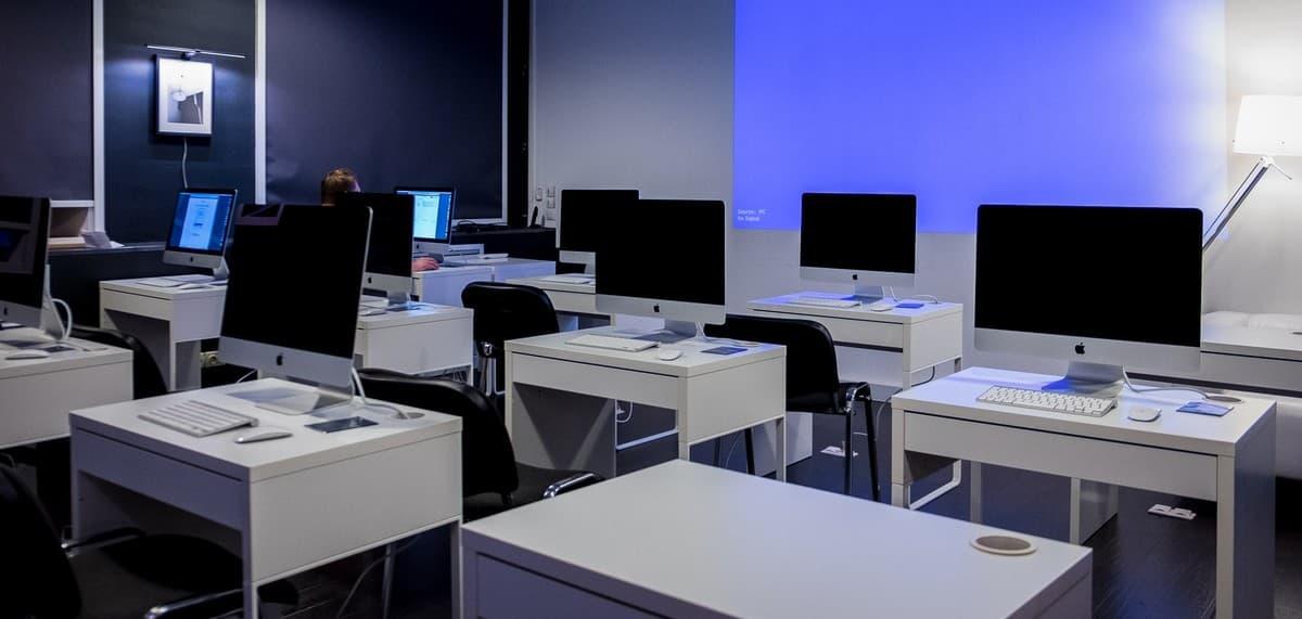 Компьютерный класс в облаках