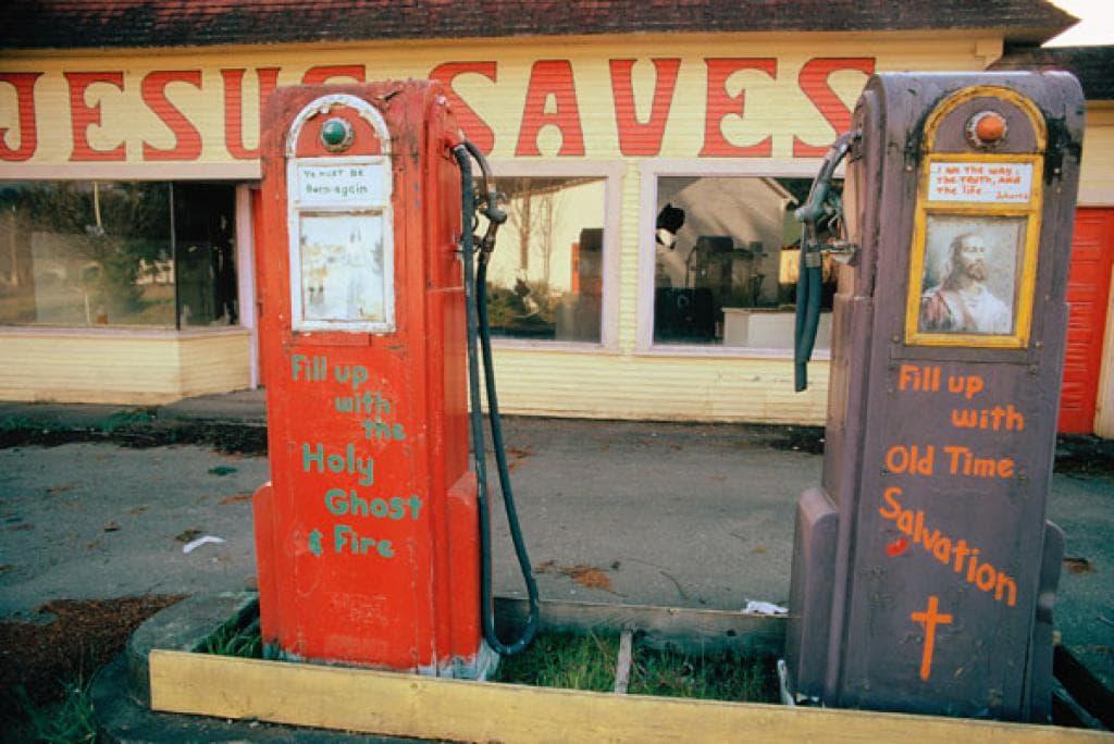 В нефтяной кризис 1973 г. закрытые американские заправки превращались даже в молельные дома…