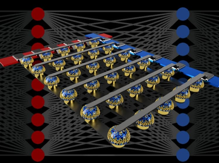 Сетки энергонезависимой памяти ускоряют глубокое обучение нейронных сетей путем выполнения вычислений там, где данны хранятся. (Источник: IBM)