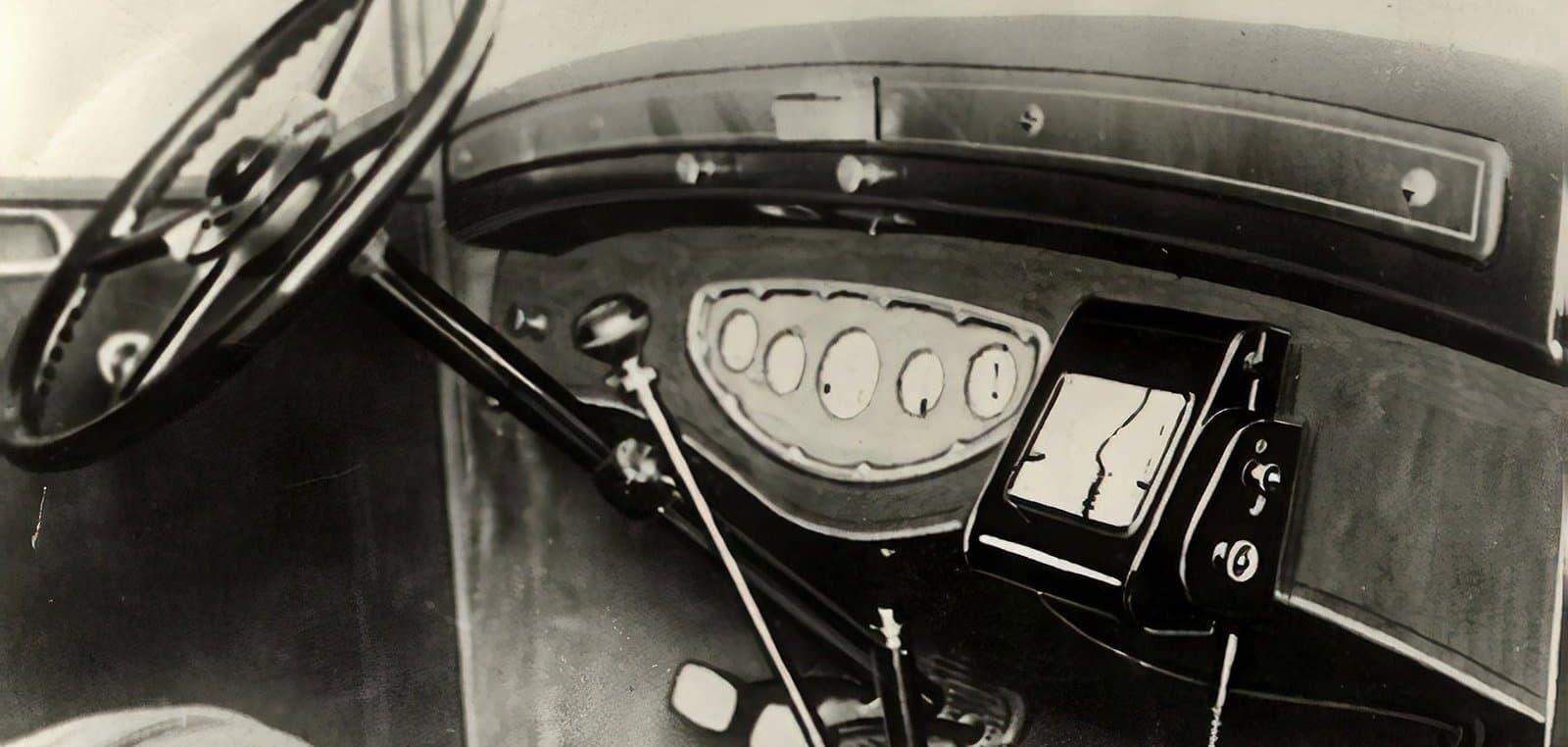 Автомобильные навигаторы доспутниковой эпохи