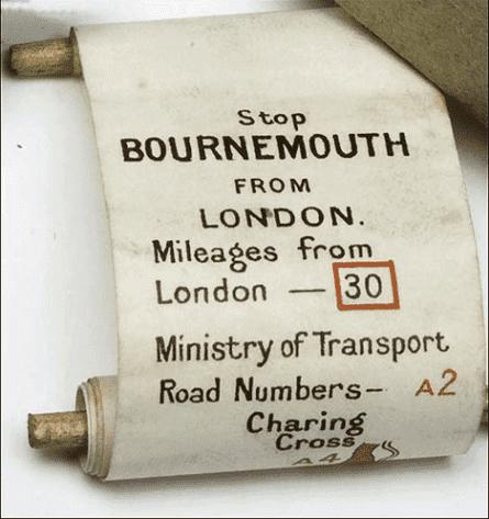 Бумажный свиток с картой для навигатора «Plus Four»
